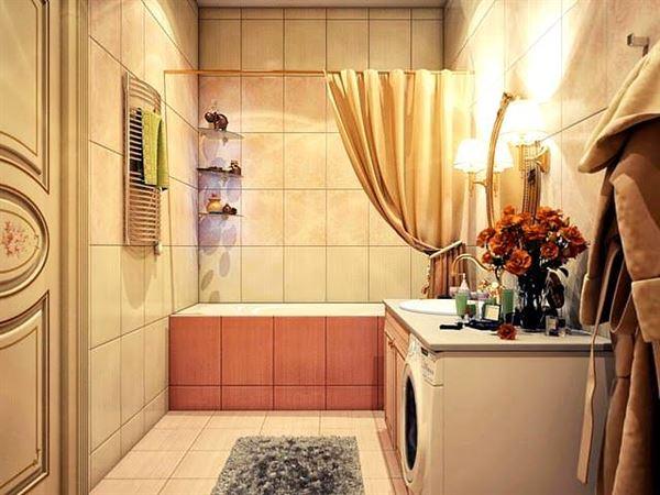 Ultra Lüks Dekorasyonlu Banyo Örnekleri 8
