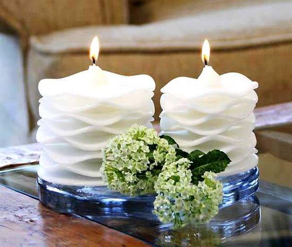 dekoratif-beyaz-mum dekoratif süsleme mum nasıl yapılır