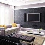 Modern Renkli Salon ve Oturma Odası Stilleri 1