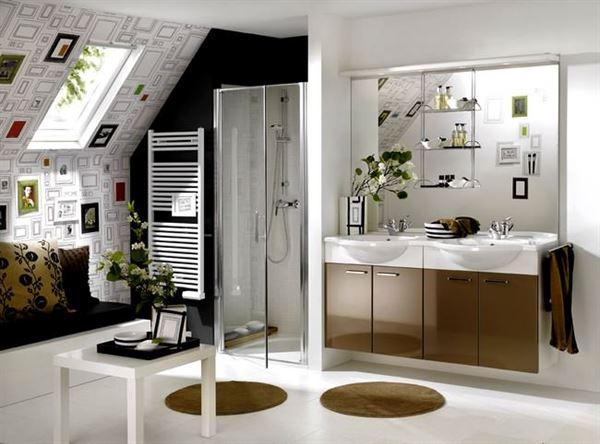 Çok Şık Dekorasyonlu Banyolar 14
