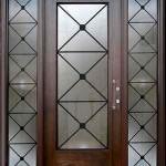 Dekoratif ahşap kapı modelleri 4