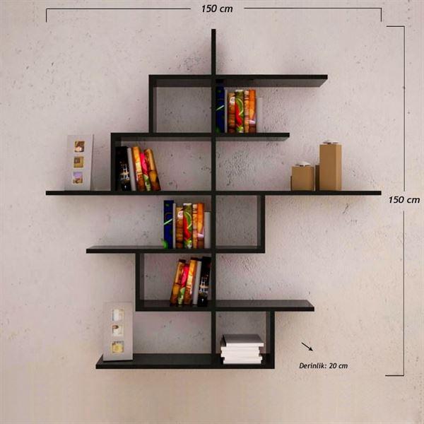 Dekoratif Kitaplık Tasarımları 18