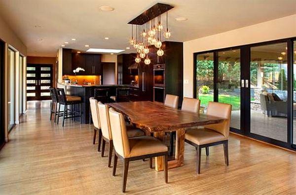 Mutfak Ve Yemek Masası Aydınlatma Modelleri 17