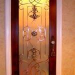 Dekoratif ahşap kapı modelleri 5