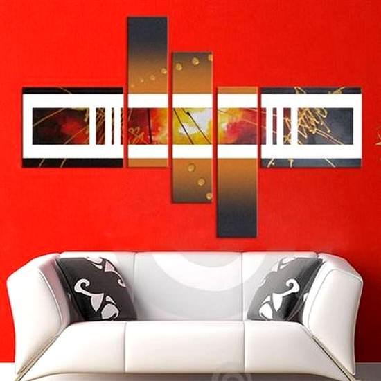 Tablolarla Duvarlarınıza Modernlik Katın 1