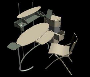 Fonksiyonel Çalışma Masası Modelleri 8