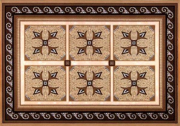 Dinarsu Çakıl Serisi Halı Desenleri 12