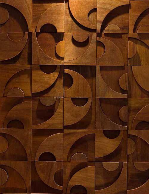 Dekoratif Doğal Ahşap Duvar Kaplamaları