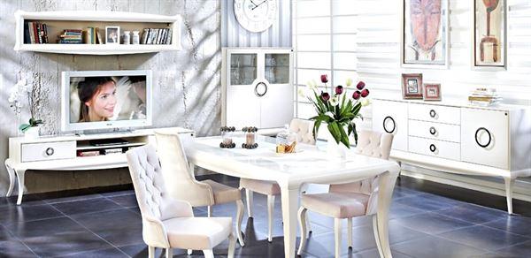 doğtaş mobilya yemek odası modelleri - dogtas dolce bellaze yemek odasi - Doğtaş Mobilya Yemek Odası Modelleri