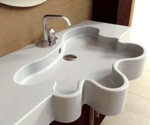 İlginç Farklı Banyo Lavabo Tasarımları
