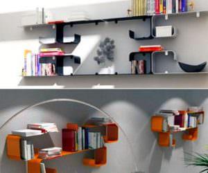Modern Yeni Tasarım Kitaplık Modelleri
