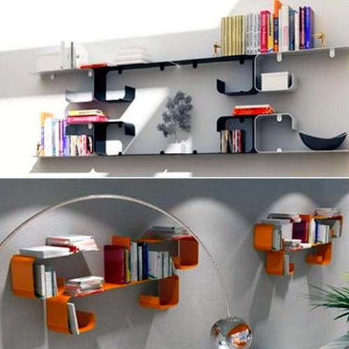 Modern Yeni Tasarım Kitaplık Modelleri 18