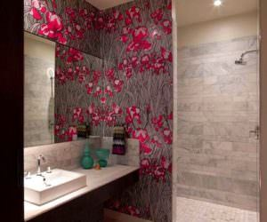 Banyo Duvarlarına Duvar Kağıdı Yapılır Mı