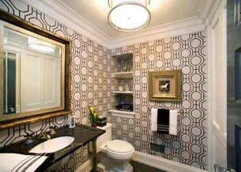 dekoratif banyo duvar kağıt