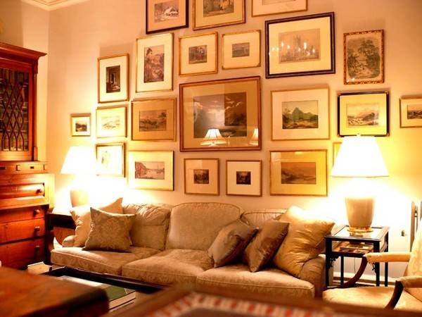 duvar resim çerçeveleri duvarlarınızı resim ve tablolarla süsleme fikirleri
