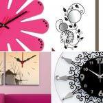 dekoratif duvar saat modelleri