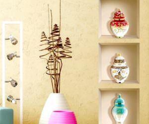 Modern Dekoratif Duvar Nişleri Ve Süsleme Modelleri