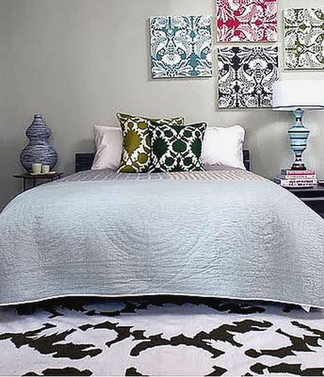 yatak odası duvar süsleme