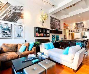 Çok Canlı Renklerle Oda Dekorasyon Fikirleri