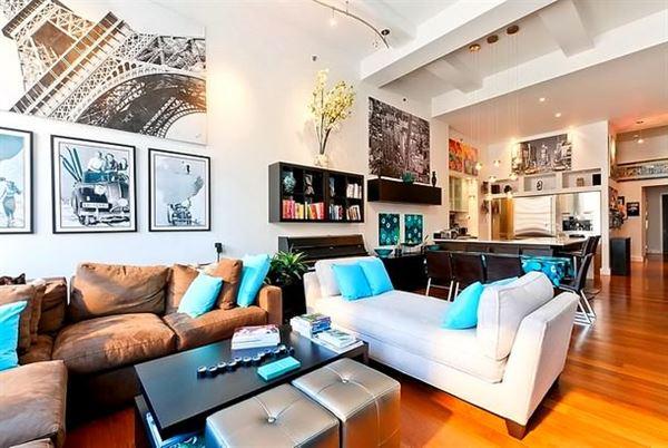 Çok Canlı Renklerle Oda Dekorasyon Fikirleri 21