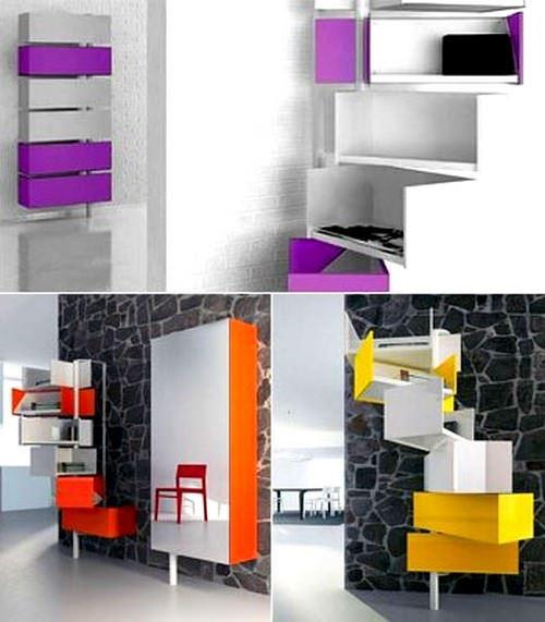 Modern Yeni Tasarım Kitaplık Modelleri 3