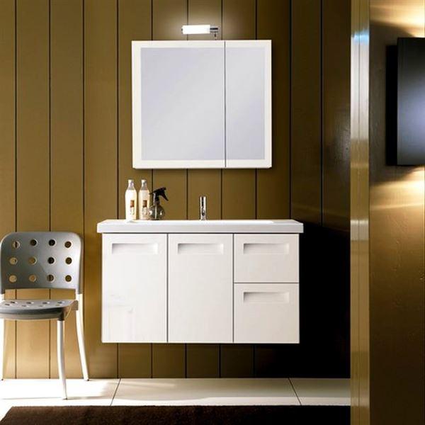 duvara-montajli-banyo-dolap ufak banyolar İçin dolap fikirleri