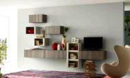 Modern Duvara Montalı tv Ünite Tasarımları