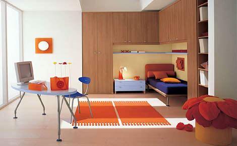renkli genç odası ranzaları fonksiyonel renkli ranzalı genç odaları
