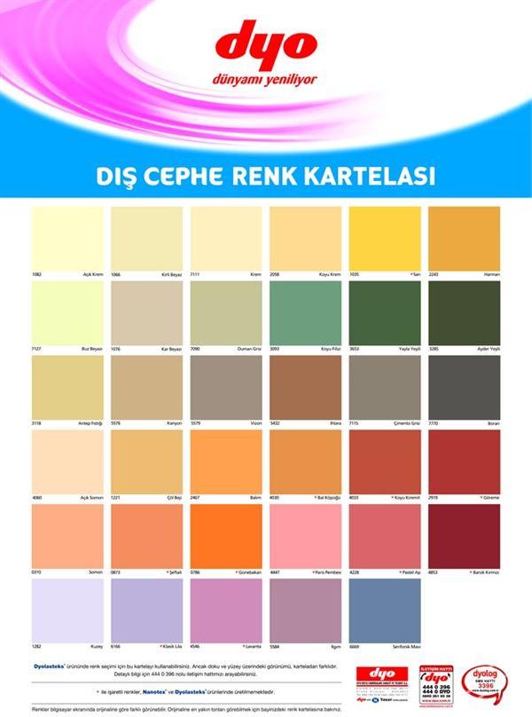 dyo-boya-dis-cephe-boya-renkleri dyo boya renk kartelaları - dyo boya dis cephe boya renkleri - Dyo Boya Renk Kartelaları