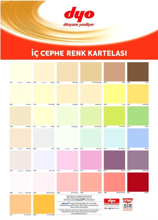 dyo-ic-cephe-boya-renkleri dyo boya renk kartelaları - dyo ic cephe boya renkleri - Dyo Boya Renk Kartelaları