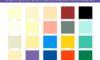 Dyo Boya Renk Kartelaları