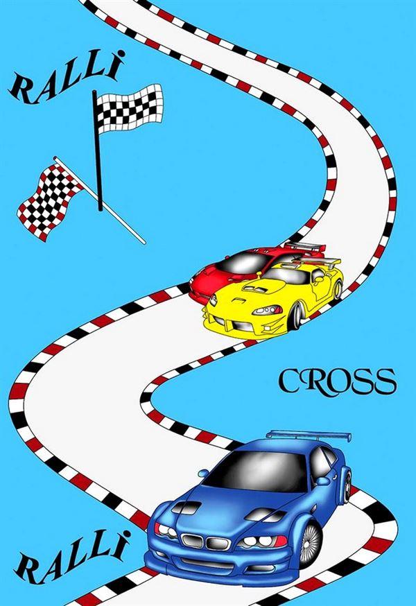 Arabalı cross halı