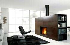 Şömineli Ev Dekorasyon Modelleri 4