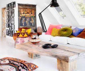 Eskitme Tarz İlginç Ev Dekorasyon Modeli