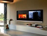 Şömineli Ev Dekorasyon Modelleri 7