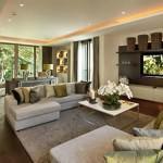 Modern Renkli Salon ve Oturma Odası Stilleri 3