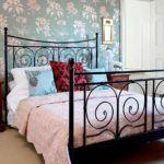 ferforje karyola yatak odası evinizi güzelleştirmek adına fikirler