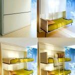 kısıtlı alanlar İçin modüler mobilya fikirleri - fonksiyonel cocuk ranza modeli 150x150 - Kısıtlı Alanlar İçin Modüler Mobilya Fikirleri