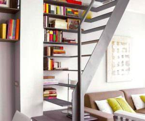 Kullanışlı Fonksiyonel Merdiven Tasarımı