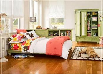 genc kiz yatak odasi dekorasyonu