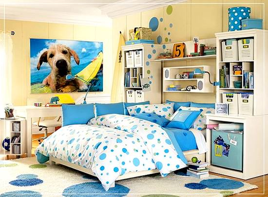 Genç Kız Yatak Odası Fikirleri 9