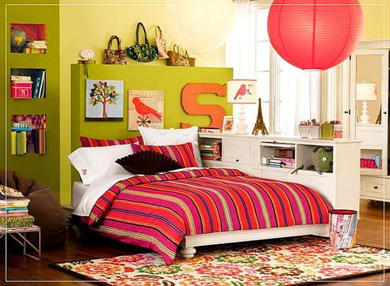 kız çocuk odası - genc kiz yatak odasi dekorasyonu6 - Genç Kız Yatak Odası Fikirleri