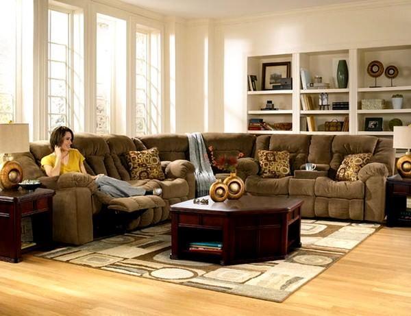 Oturma Odası Geniş Köşe Takımı Modelleri 5