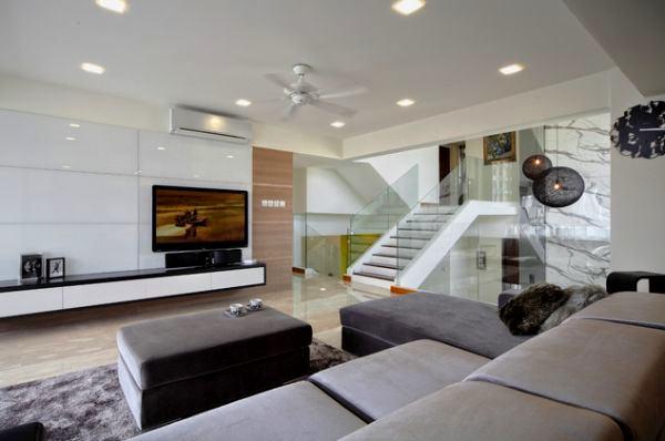 Modern Dekoratif Oturma Odası Dekorasyon Fikirleri 4