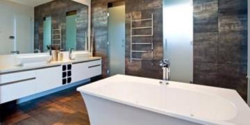 modern küvetli banyo