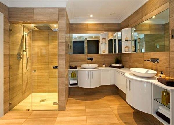 Modern Yenilikçi Banyo Dekorasyon Stilleri 17