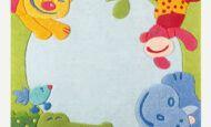 Sevimli Bebek Odası Halı Örnekleri