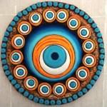 seramik-hamurundan-nazarlik-yapimi seramik hamuruyla dekoratif süs eşyaları yapın - hamurdan nazar boncugu 150x150
