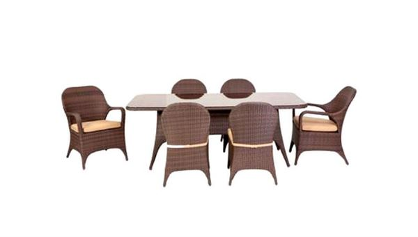 hasırlı bahçe masa sandalye takımı