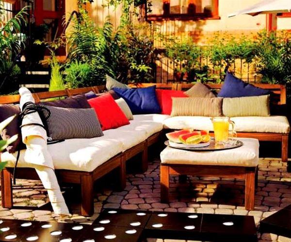 Ikea Bahce Ahsap Masa Sandalye2